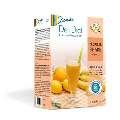 Slanka Deli Diet Tropical Shake 6-Pack in the group SLANKA Deli Diet at Nails, Body & Beauty (5157)