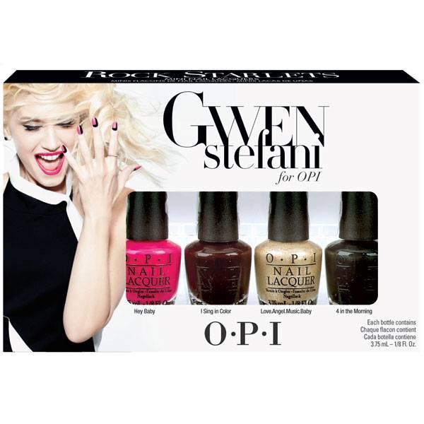 OPI Gwen Stefani Rock Starlets Mini Nagellack