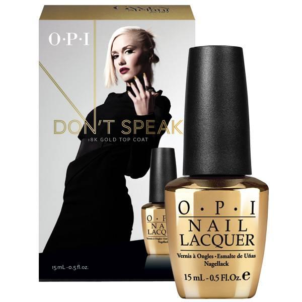 OPI Gwen Stefani Don´t Speak Pure 18K Gold Top Coat