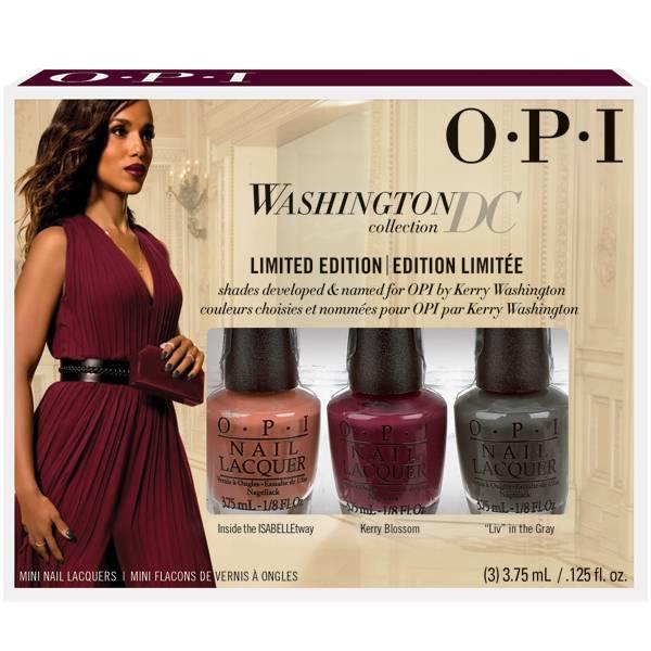 OPI Washington DC 3-Piece Mini Nail Polish -Limited Edition-