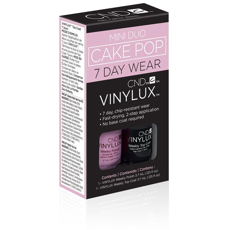 Cnd Vinylux No 135 Cake Pop Mini Duo